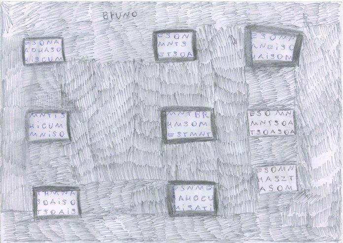 Dessins de Bruno, novembre 2013 (glissé(e)s) 1